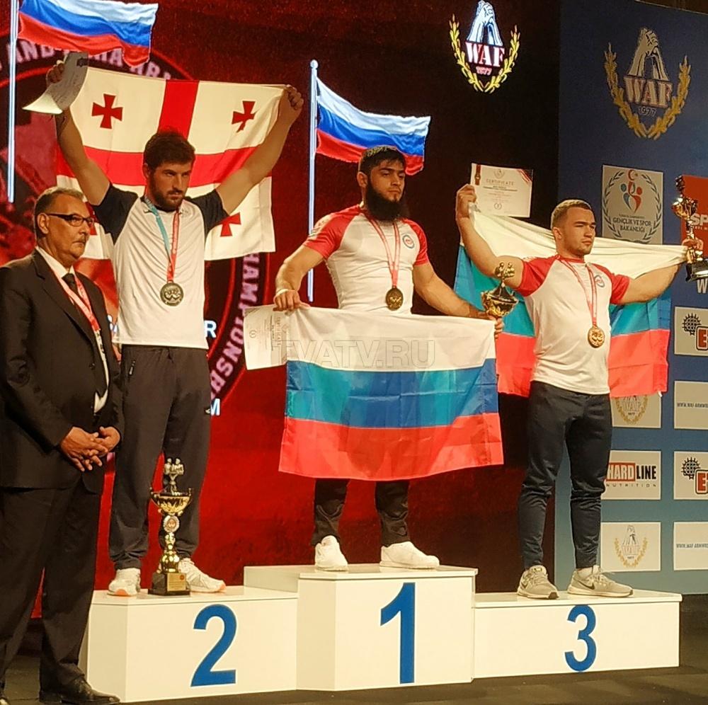 Спортсмен из Бурятии завоевал «бронзу» Чемпионата мира по армрестлингу