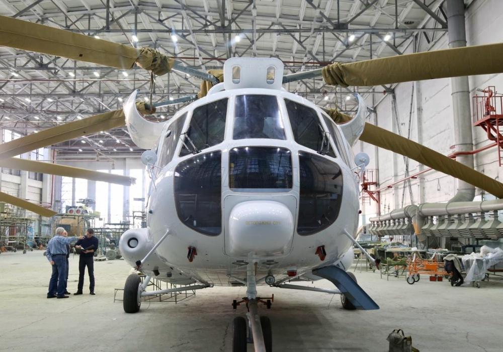"""Улан-Удэнский авиазавод поставил вертолеты """"Русским вертолетным системам"""""""