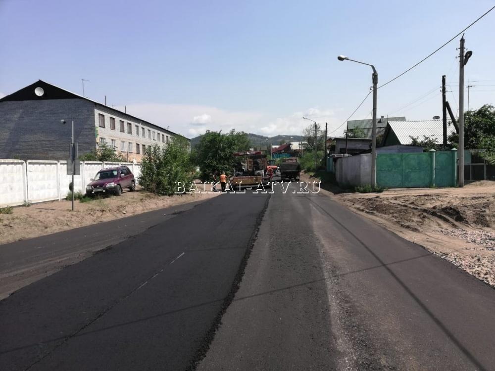 В Улан-Удэ на ремонт дороги выделили 34, 73 миллиона рублей